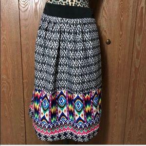 Postcards Tribal Skirt